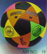 soccer balls / DOUBLE CROWN