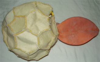Construction Of A Soccer Ball Foot Ball