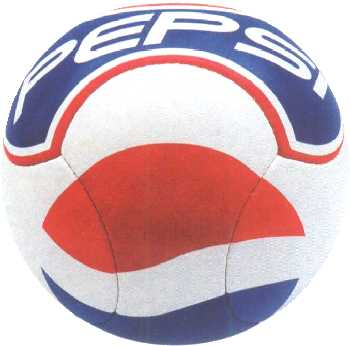 6 pannel shape soccer ball